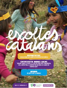 Portada Revista Escoltes Catalans núm 18