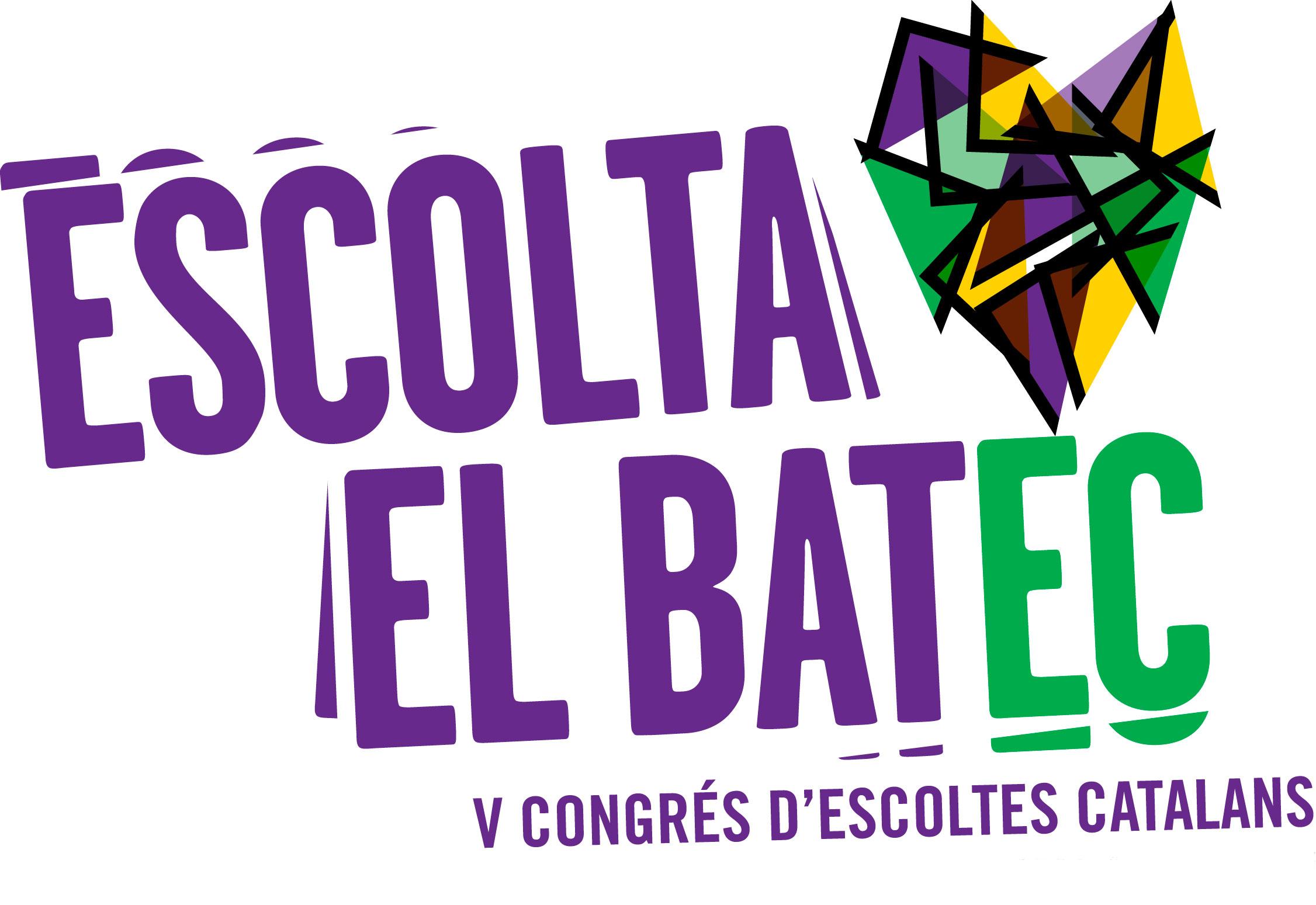 Logotip V Congrés Escolta el Batec