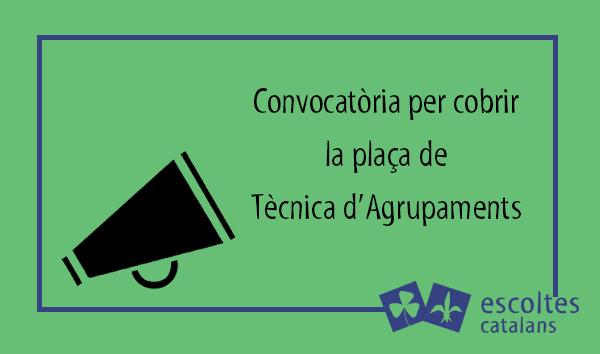 Convocatòria Tècnica d'Agrupaments
