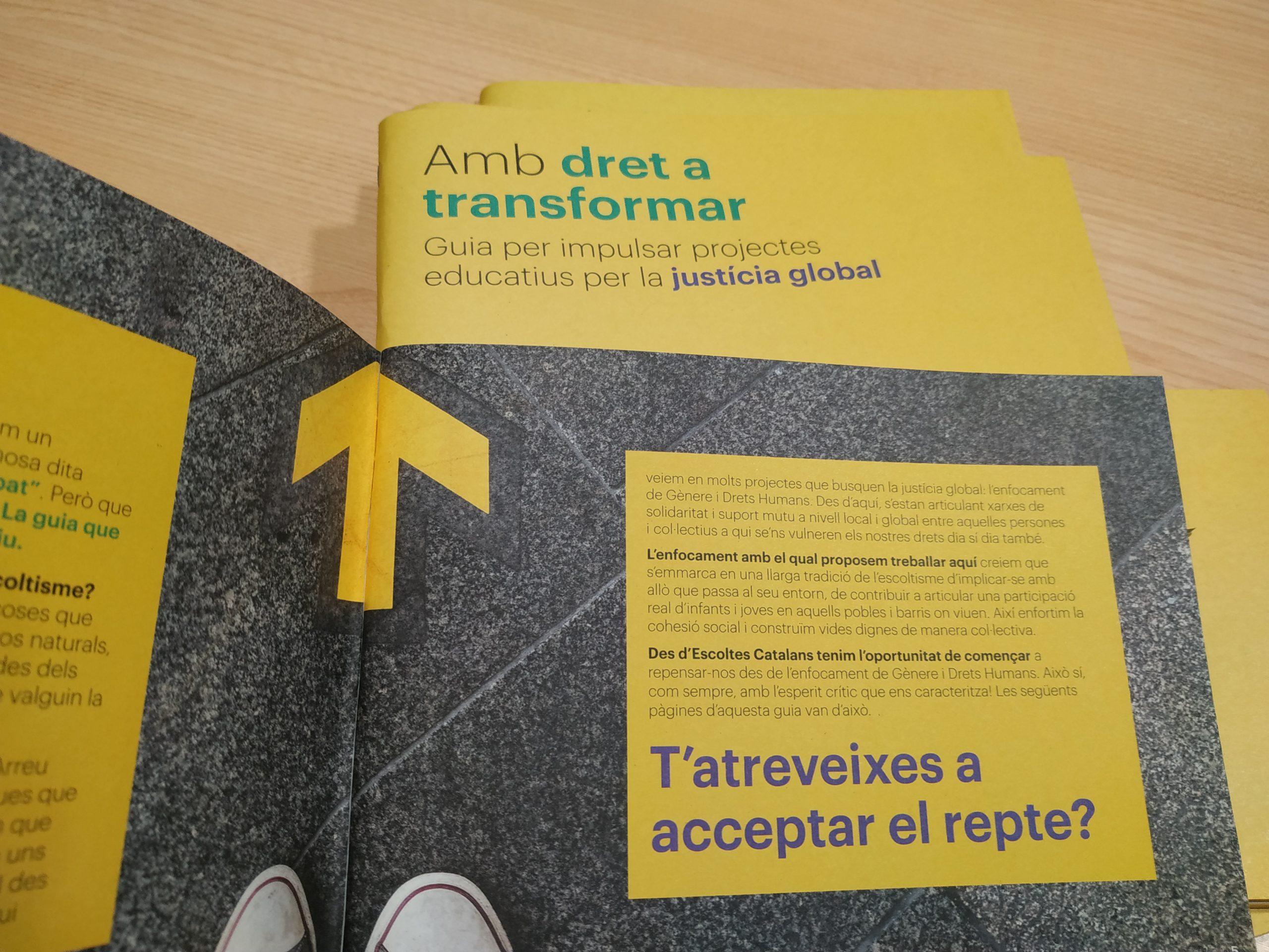 Guia Escoltes Catalans Amb dret a Transformar